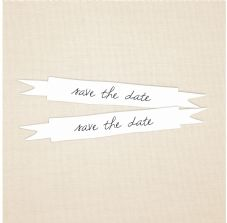 Save The Date Stickers - Envelope Seals